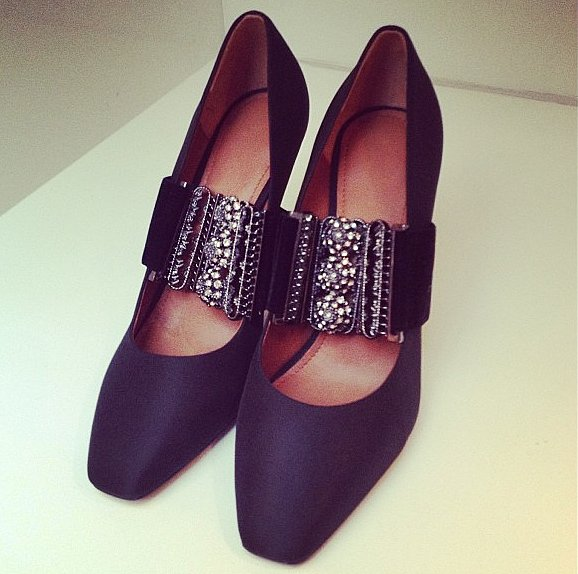 Embellished heels from H&M.