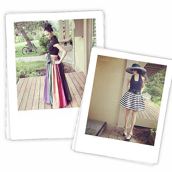 Ever wonder what going on vacation with Alice + Olivia's Stacey Bendet would look like?  Photo courtesy of Alice + Olivia