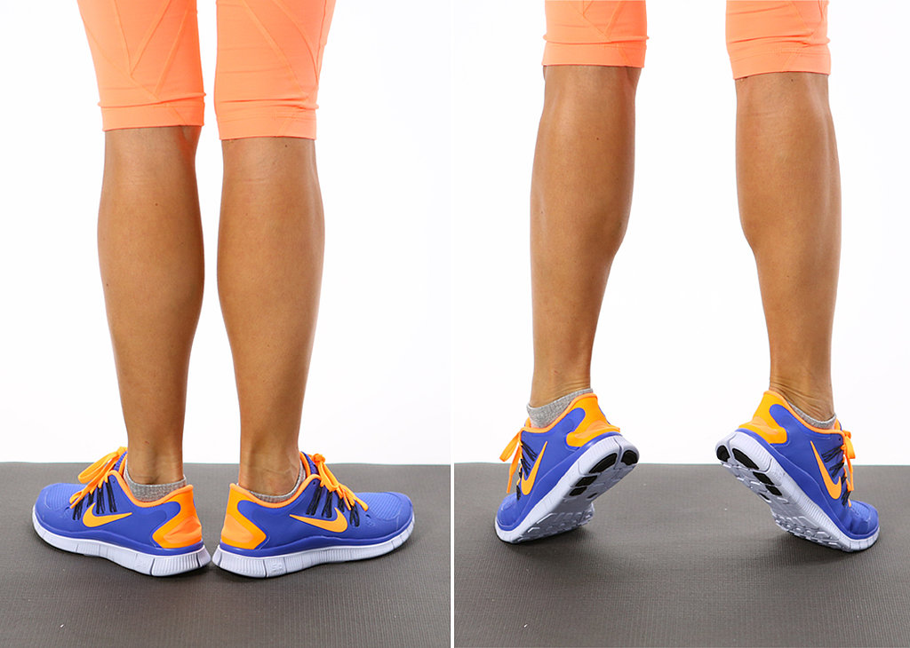 Shin Splints: Calf Raises — External Rotation