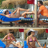 Bikini-Clad Eva Longoria and Ernesto Arguello Bring Their Love to Spain