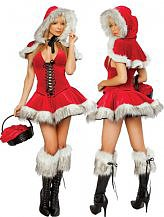 3 Piece Lil Red Riding Hood Costume $30.55