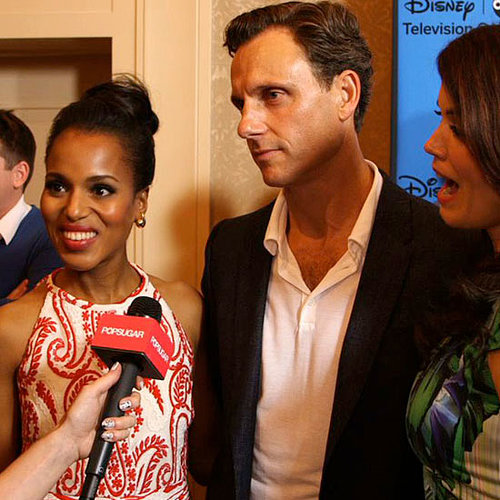 "Kerry Washington Says Wedding Was ""Pretty Thrilling"" (Video)"