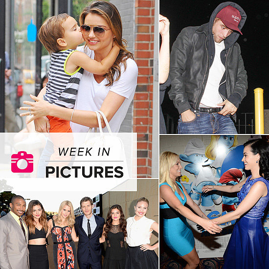 The Week in Pictures: Flynn Gives Mum A Kiss, Rob Watches Jay Z & JT, Pop Stars Unite & More!