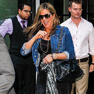 Jennifer Aniston Without Makeup Before a Press Day in NYC