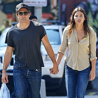 Jake Gyllenhaal and Girlfriend Alyssa Miller Holding Hands