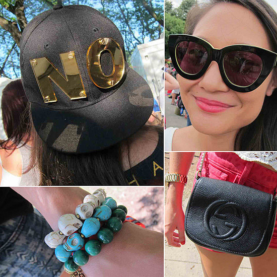 Forget the Bands: It's All About Our Lineup of Lollapalooza's Best Accessories
