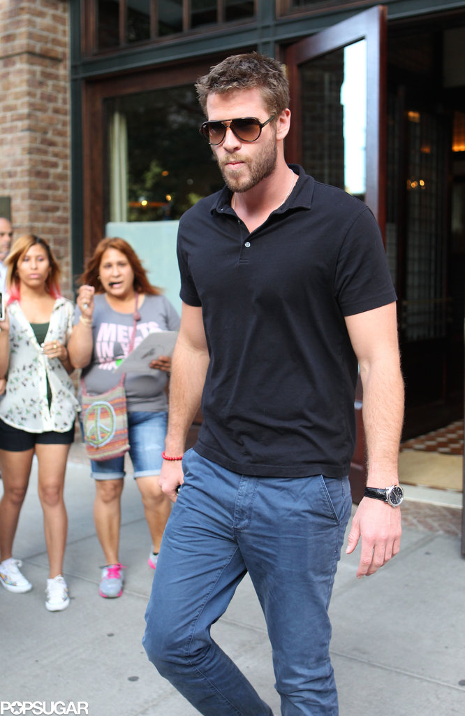 Liam Hemsworth was out in NYC.