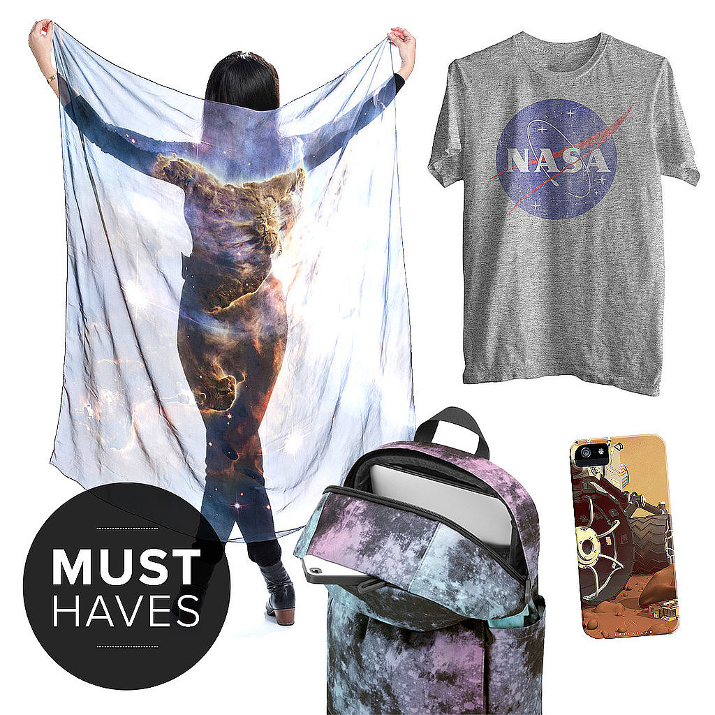August marks the one-year anniversary of the Curiosity rover landing on Mars via space crane and supersonic parachute. In honor of this scientific achievement and an insatiable quest for STEM learning, this month's must haves are all about the mysterious universe above us — space! Check out the August must haves for geeks, courtsey of POPSUGAR Tech!