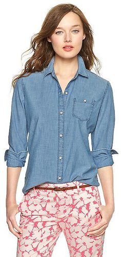 1969 Chambray One-Pocket Shirt