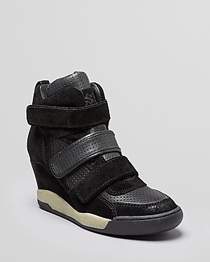 Ash High Top Wedge Sneakers - Alex