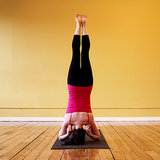 Pinching Shoulders Headstand