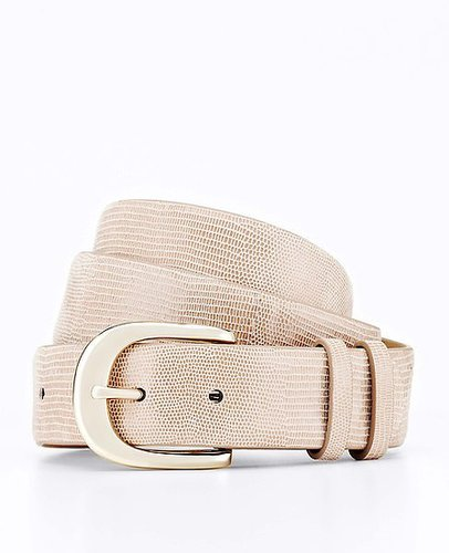 Double Keeper Exotic Leather Belt