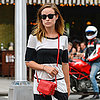 Olivia Wilde's Striped Dress