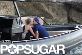 Leonardo DiCaprio and Toni Garrn showed PDA.