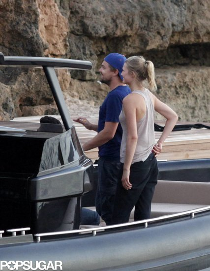 Leonardo DiCaprio and His Bikini Babe Hit Up Spain