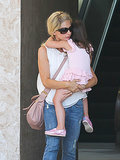 Sarah Michelle Gellar picked her daughter up from ballet class in LA on Saturday.