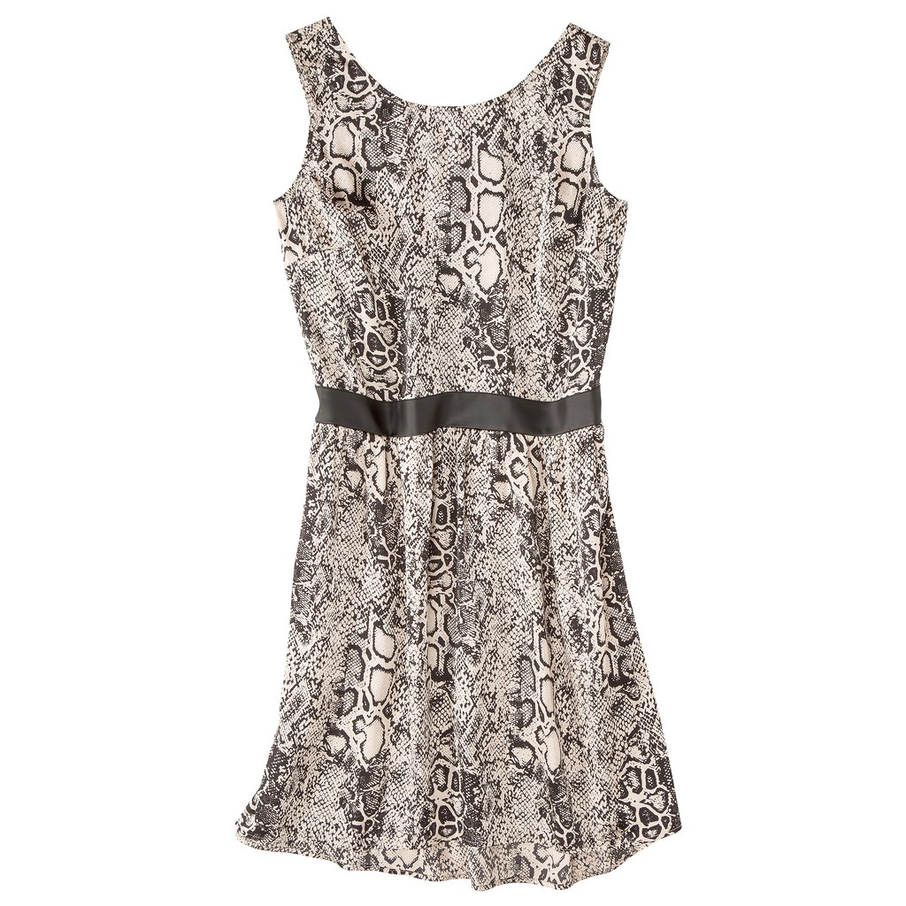 Inject an animal print into your wardrobe this Fall, like Mossimo's subdued snake print ($28).