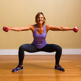 Sumo Squat With Side Arm Raises