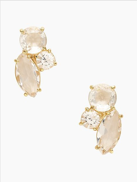 If diamonds are a girl's best friend, consider oversize costume studs ($29, originally $78) her best party partner in crime.