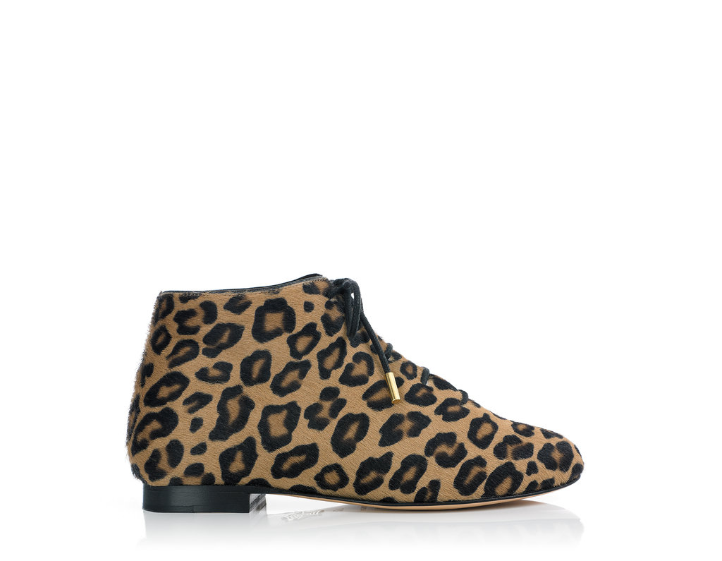 Charlotte Olympia Beatrix leopard bootie ($395).