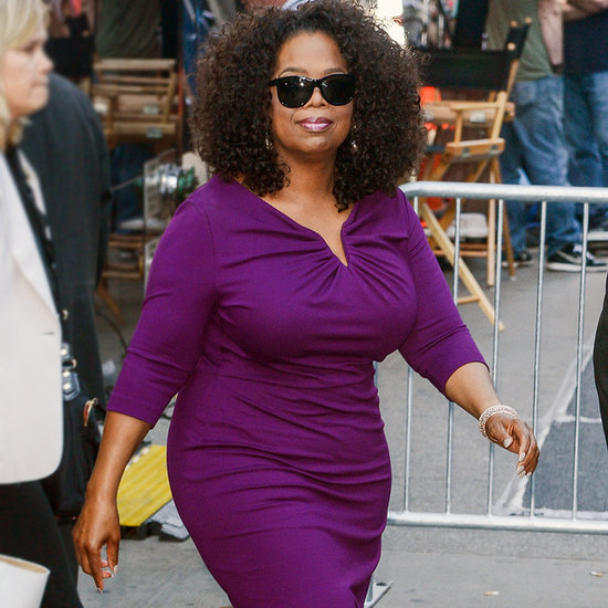 Oprah Looks Like Royalty on Her Promotional Tour For The Butler