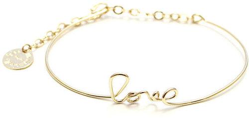 Paris Love Bracelet Gold