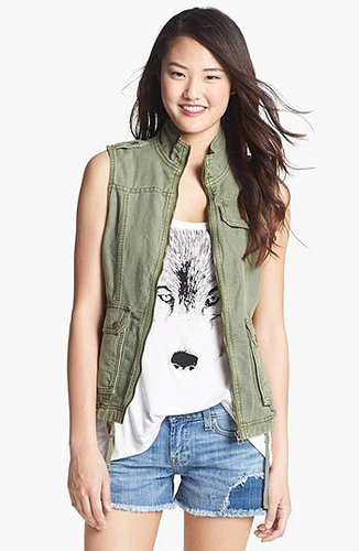 Lucky Brand Military Vest X-Large