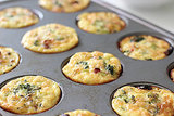 Turkey, Broccoli, and Egg Muffins