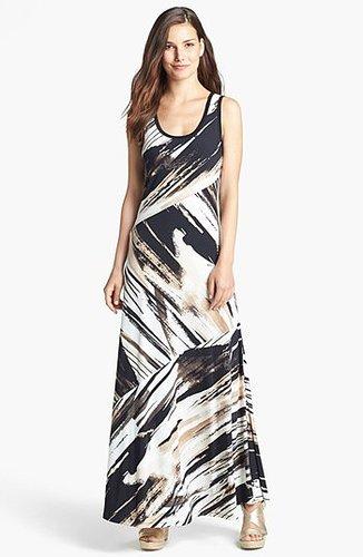 Calvin Klein Bias Cut Maxi Dress