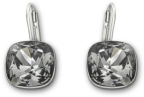 SWAROVSKI Sheena Silvernight Crystal Earrings