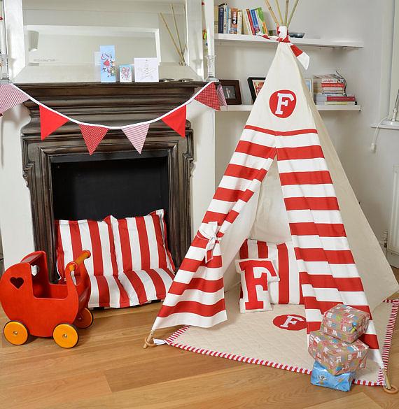 Teepee Play Tent