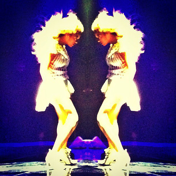 Two Beyonces are better than one! Source: Instagram user prabalgurung