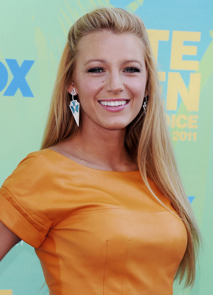 At the 2011 awards, Blake Lively looked darling with a half updo and a subtle smoky eye.