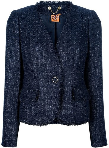 Tory Burch tweed blazer