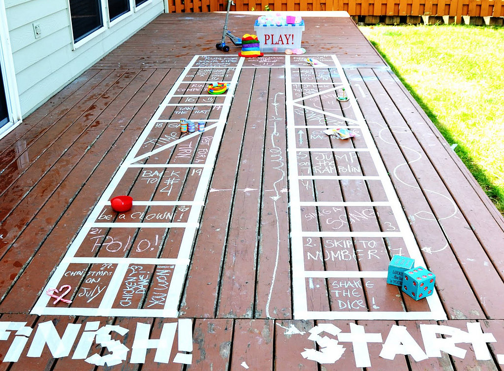 DIY Outdoor Board Game