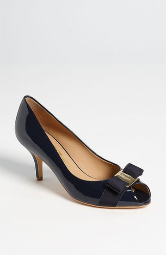 Salvatore Ferragamo 'Ribes' Pump Black 10.5 B