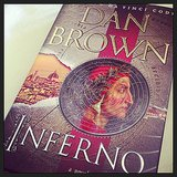 Ami1481010 was reading Inferno, Dan Brown's latest.