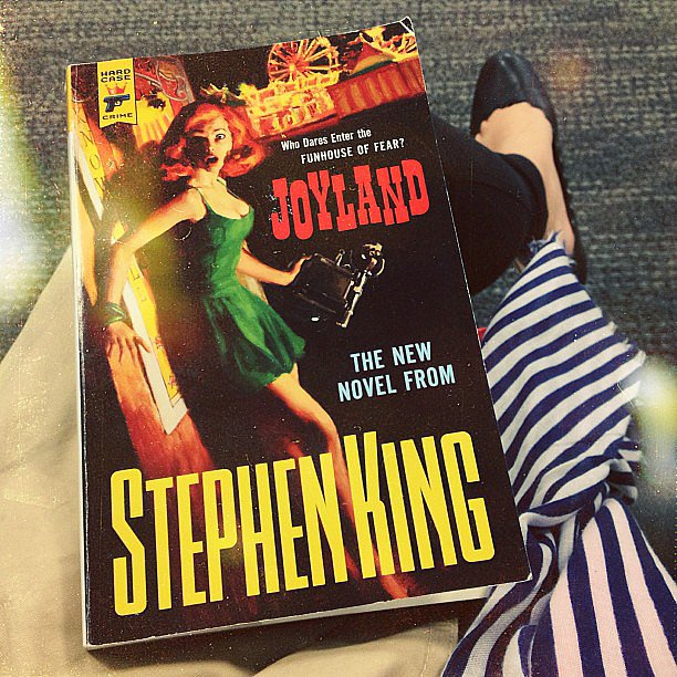 Read Stephen King's Joyland cover-to-cover on the plane!