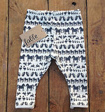 Navy Animal Print Leggings ($46)