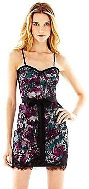 Pearl Georgina Chapman of Marchesa Floral Lace Bustier Dress