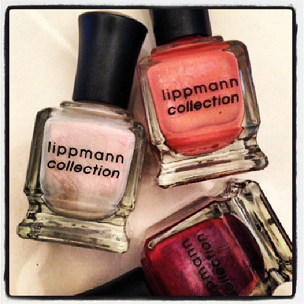 Deborah Lippmann teased fans with a snapshot of discontinued bottles of polish. Source: Instagram user deborahlippmann