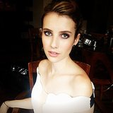 Emma Roberts got glam for a TV appearance. Source: Instagram user emmaroberts6