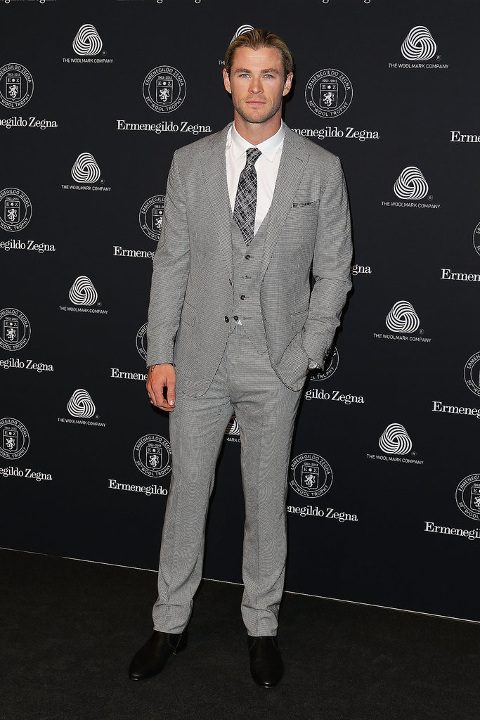 Chris was the guest of honour at the 50th Anniversary Wool Awards in Sydney in April 2013.