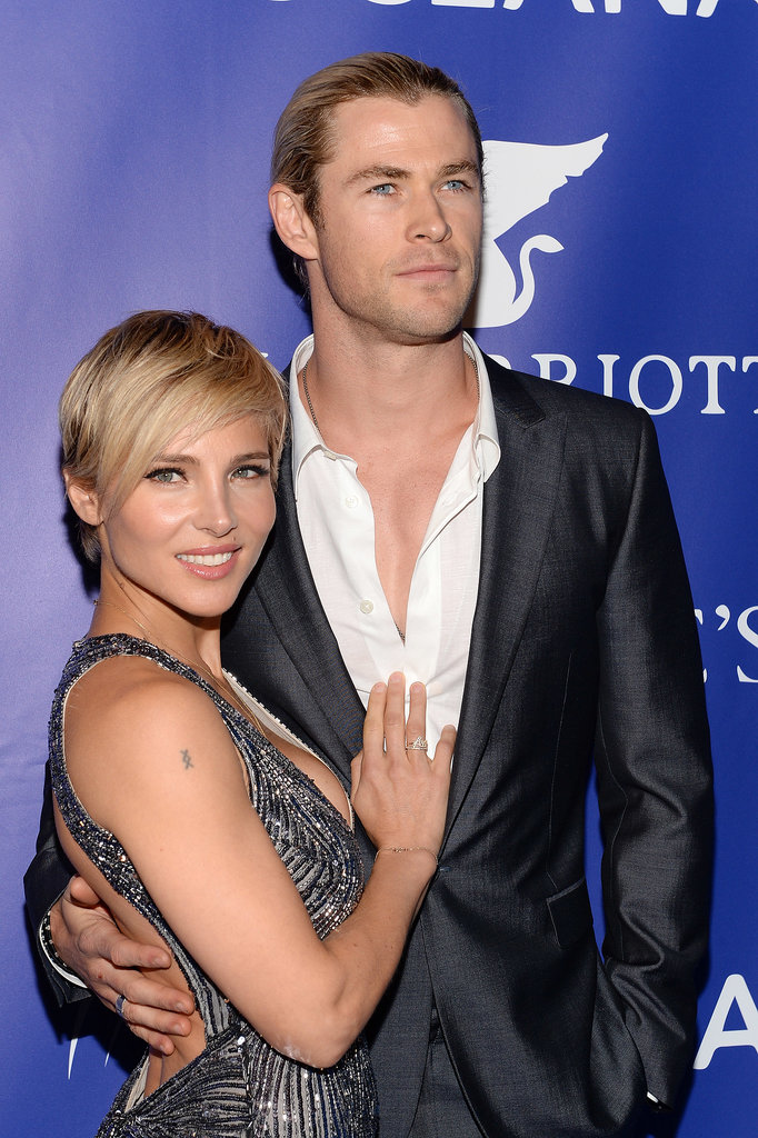 Chris and Elsa attended the inaugural Oceana Ball hosted by Christie's in NYC in April 2013.