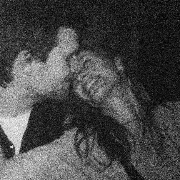Gisele Bündchen shared this sweet snap of herself and husband Tom Brady on his birthday. Source: Instagram user giseleofficial
