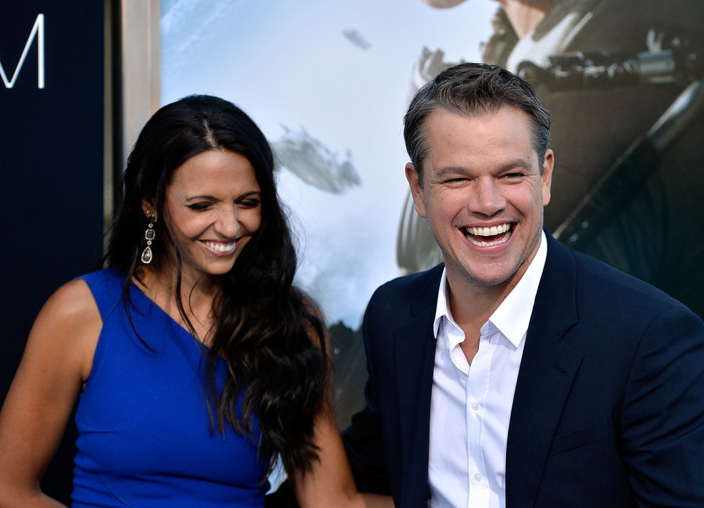Matt Damon Juggles His Leading Ladies