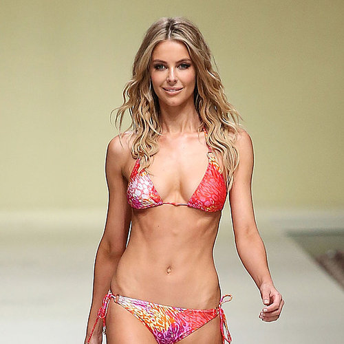 Jennifer Hawkins Bikini Pictures on Myer Runway