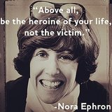 Love this quote from Nora Ephron. Source: Instagram user popsugarlove, Getty