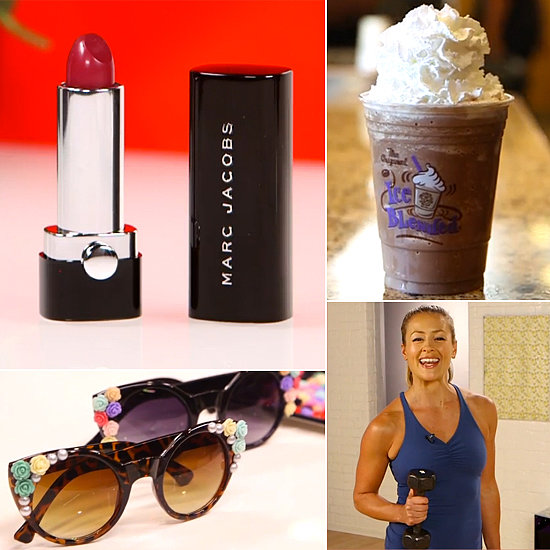 Embellished Shades, Marc Jacobs Beauty, and Ice-Blended Coffee: the Best of POPSUGARTV This Week