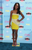 Gabby Douglas attended the 2013 Teen Choice Awards.